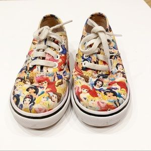 Htf vans Disney princess shoes
